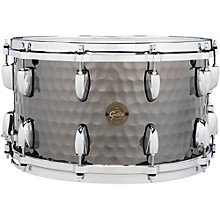 Gretsch Drums Hammered Black Steel Snare