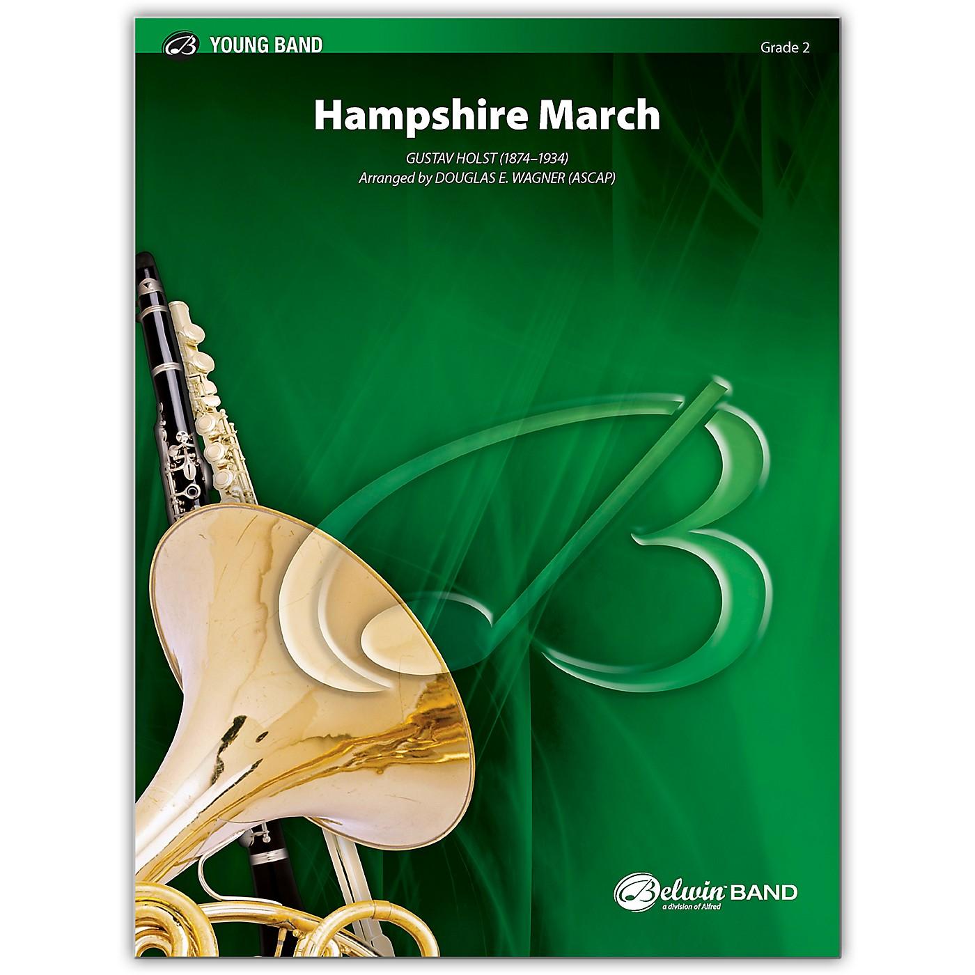 Alfred Hampshire March Concert Band Grade 2 Set thumbnail
