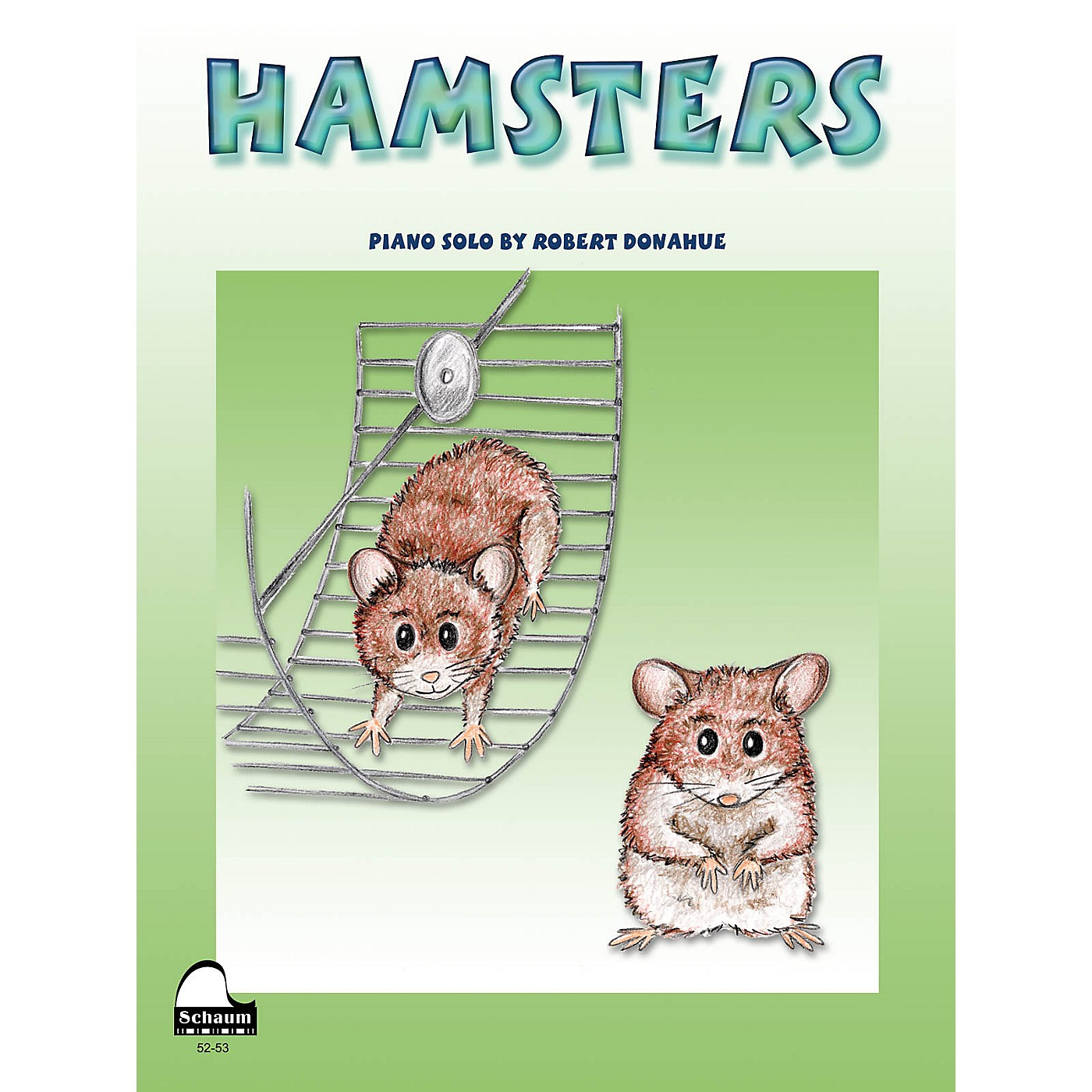 SCHAUM Hamsters Educational Piano Series Softcover thumbnail