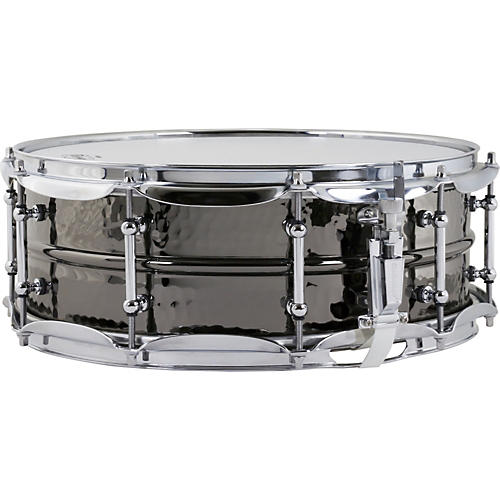 Ludwig Hand Hammered Black Beauty Snare Drum with Imperial Lugs-thumbnail