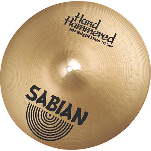 Sabian Hand Hammered Bright Hi-Hats Brilliant thumbnail
