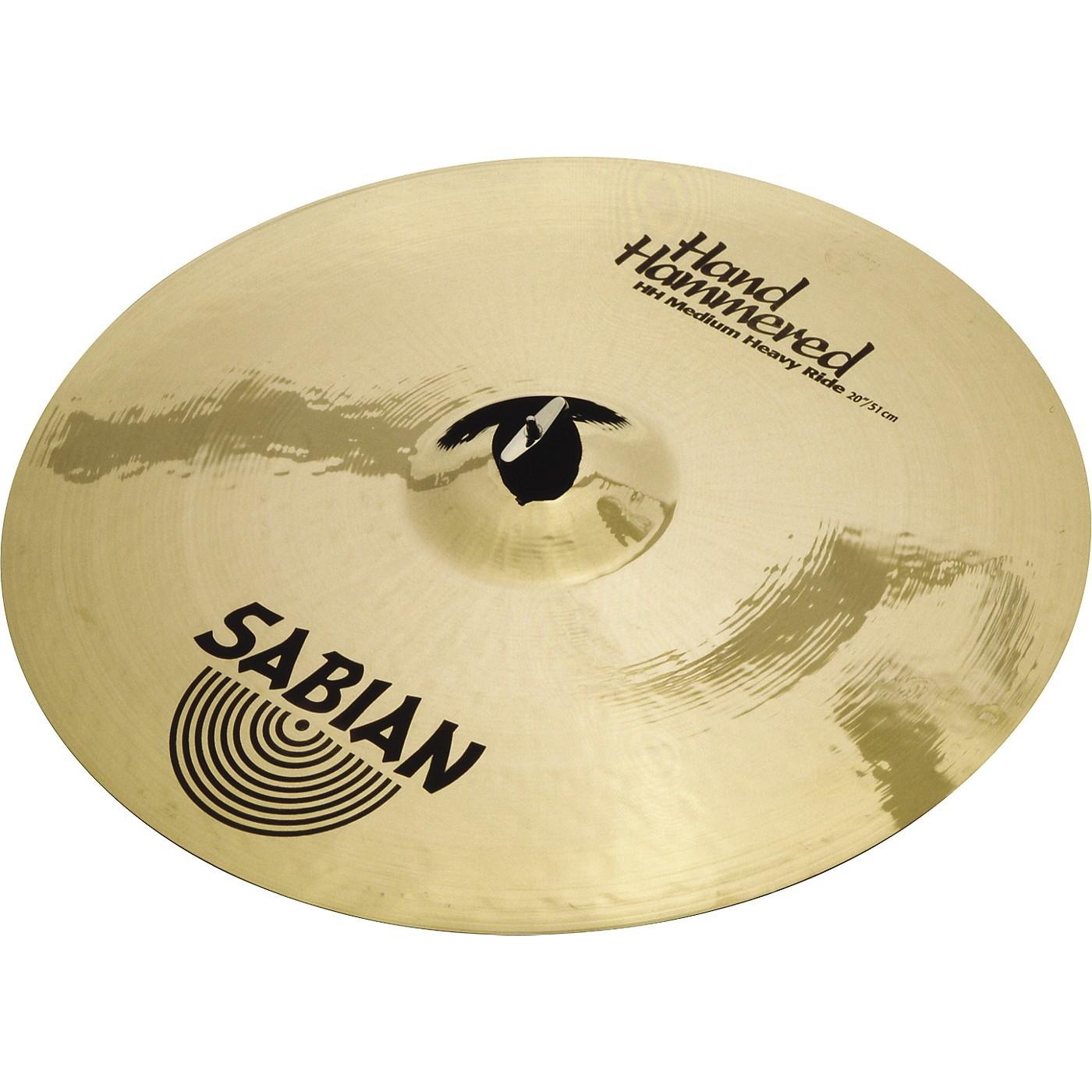 Sabian Hand Hammered Medium Heavy Ride Cymbal thumbnail