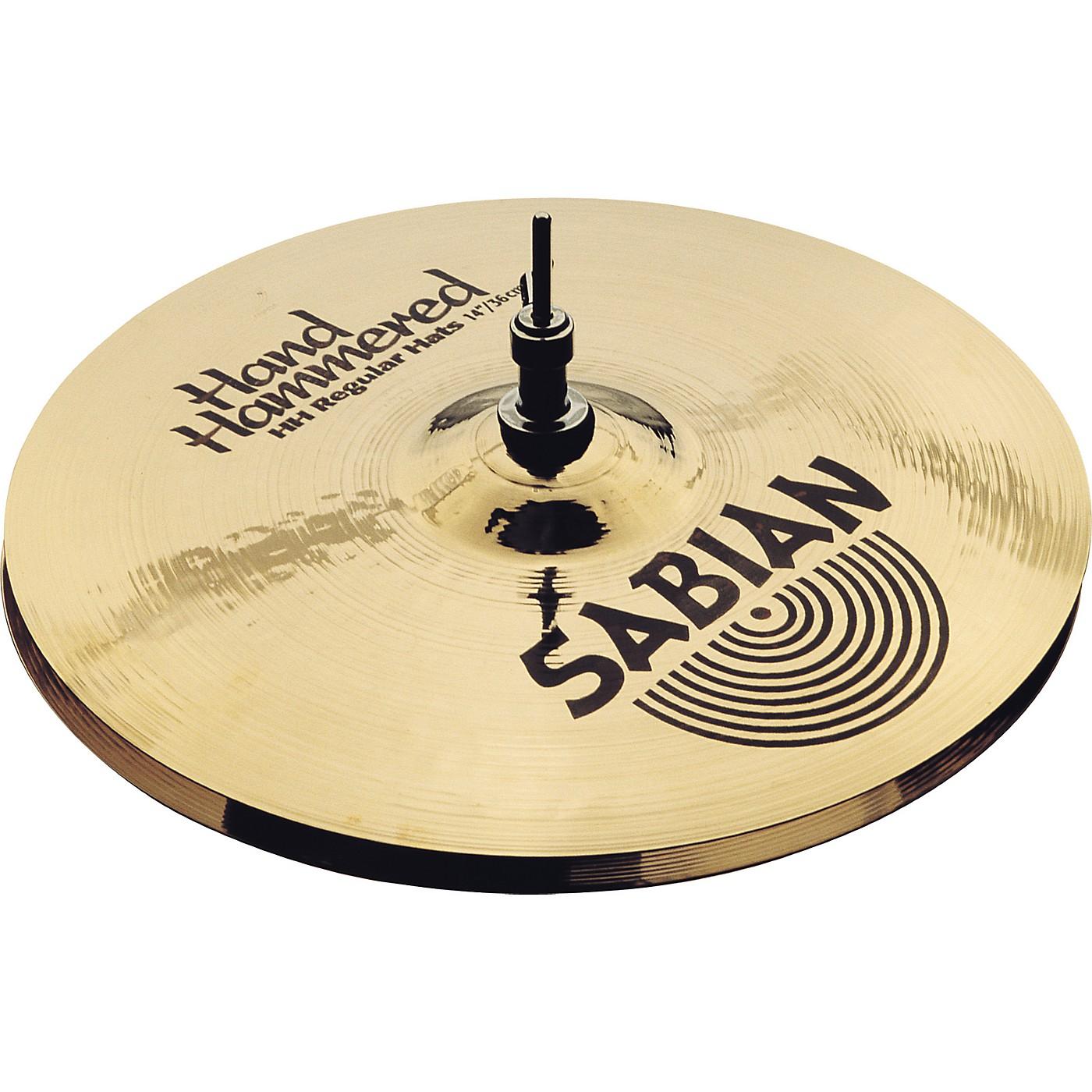 Sabian Hand Hammered Medium Hi-Hat Cymbals 14