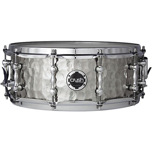 Crush Drums & Percussion Hand Hammered Steel Snare Drum thumbnail