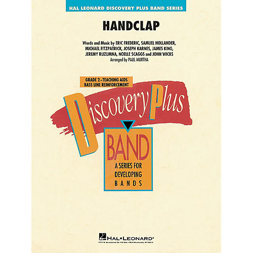 Hal Leonard HandClap - Discovery Plus Band Level 2 arranged by Paul Murtha thumbnail