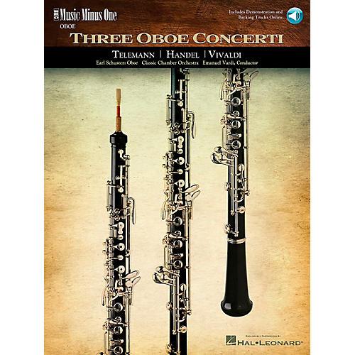 Hal Leonard Handel Telemann Vivaldi Oboe Concertos thumbnail