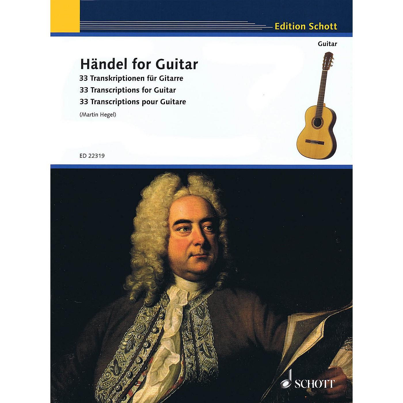 Schott Handel for Guitar (33 Transcriptions for Guitar) Guitar Series Softcover thumbnail