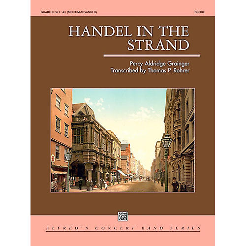 Alfred Handel in the Strand Concert Band Grade 4.5 (Medium Advanced) thumbnail