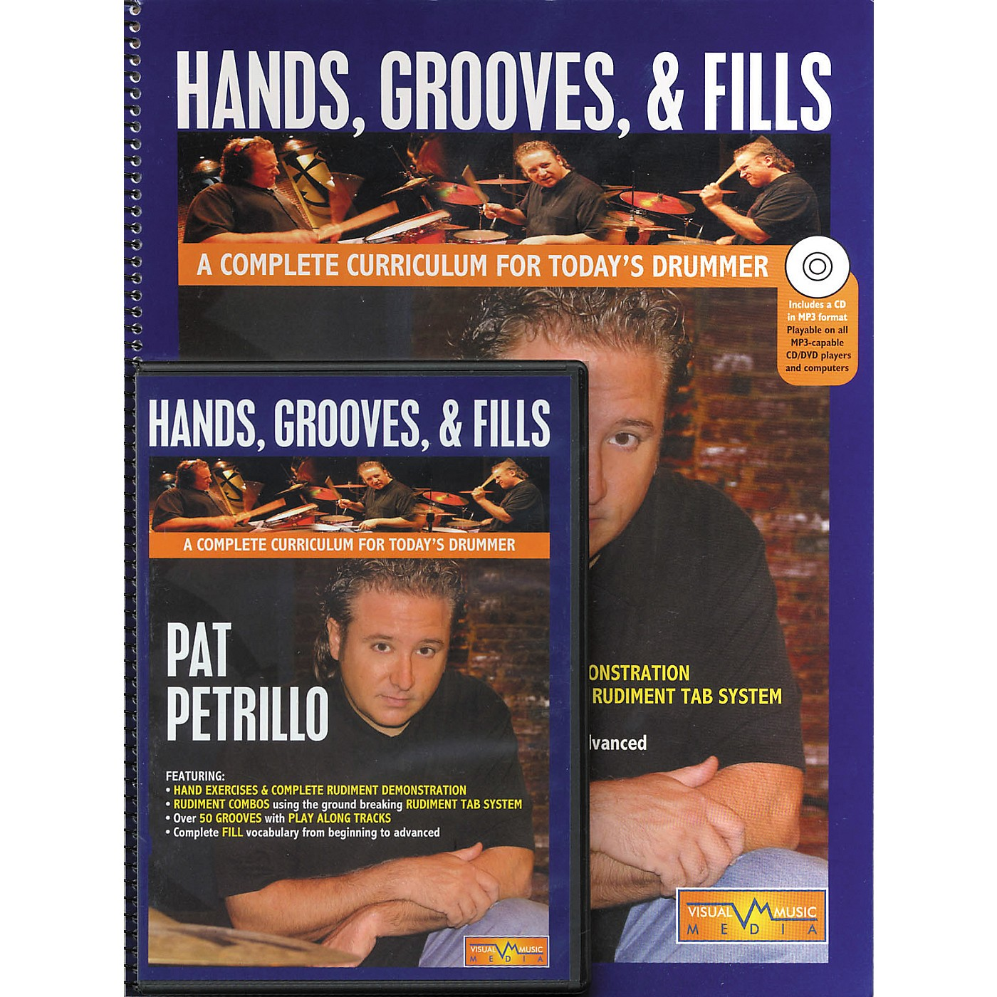 Hudson Music Hands Grooves and Fills Book and CD (A Complete Curriculum For Today's Drummer Book/CD/DVD) thumbnail