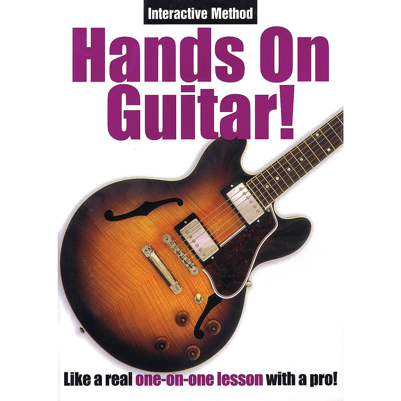 Music Sales Hands On Guitar! (Interactive Method) Music Sales America Series DVD Written by Alan Miller thumbnail