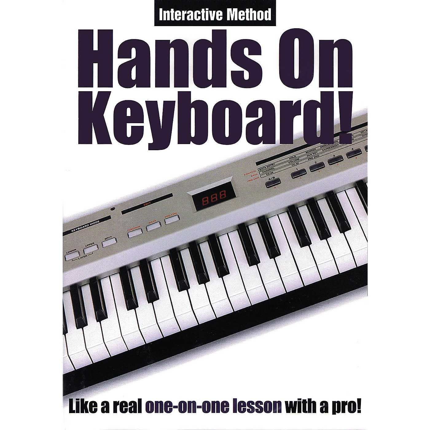 Music Sales Hands On Keyboard! (Interactive Method) Music Sales America Series DVD Written by Todd Rogers thumbnail