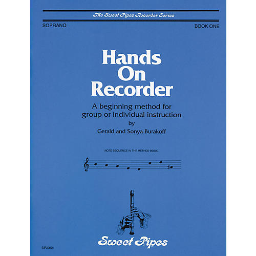 Sweet Pipes Hands-On Recorder Book thumbnail