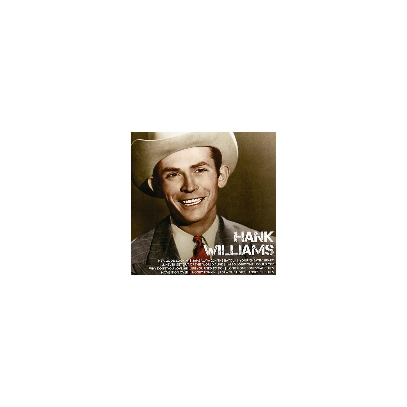 Alliance Hank Williams - Icon (CD) thumbnail