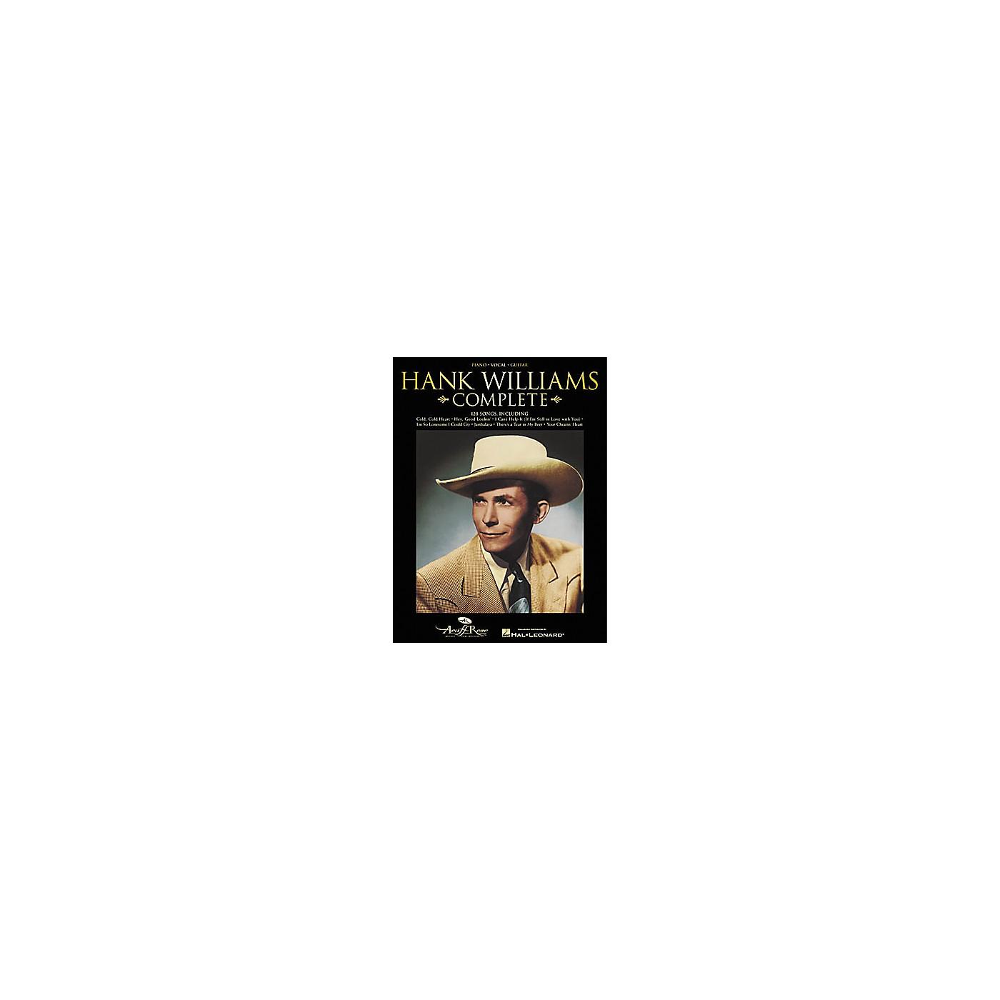 Hal Leonard Hank Williams Complete Songbook thumbnail