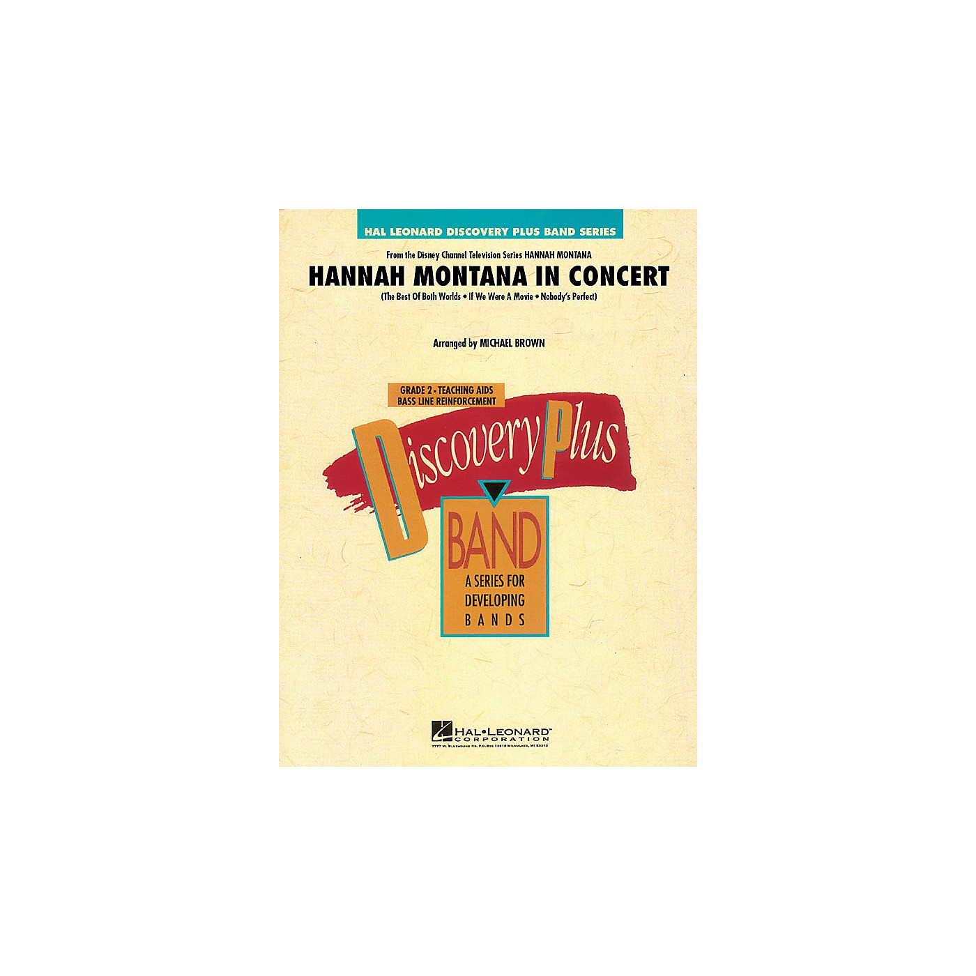 Hal Leonard Hannah Montana in Concert - Discovery Plus Band Level 2 arranged by Michael Brown thumbnail