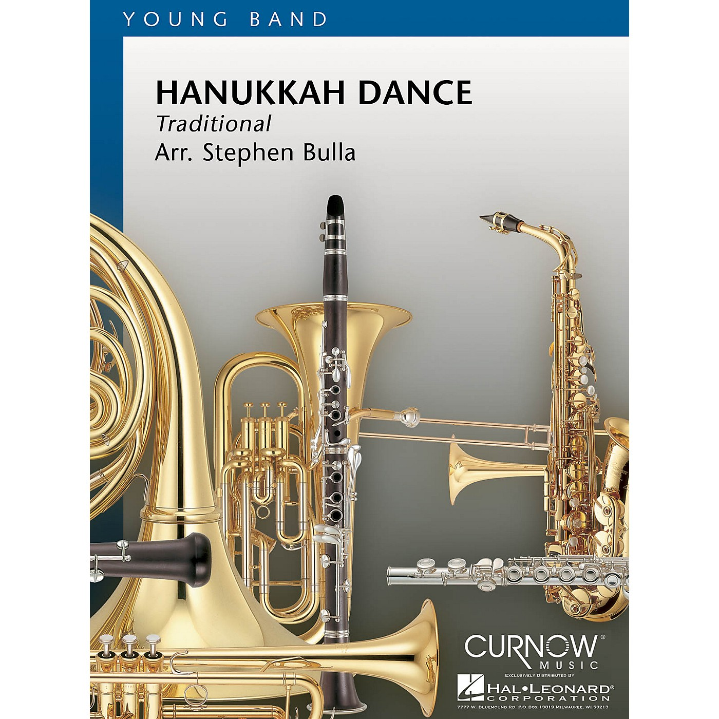 Curnow Music Hanukkah Dance (Grade 2 - Score Only) Concert Band Level 2 Composed by Stephen Bulla thumbnail