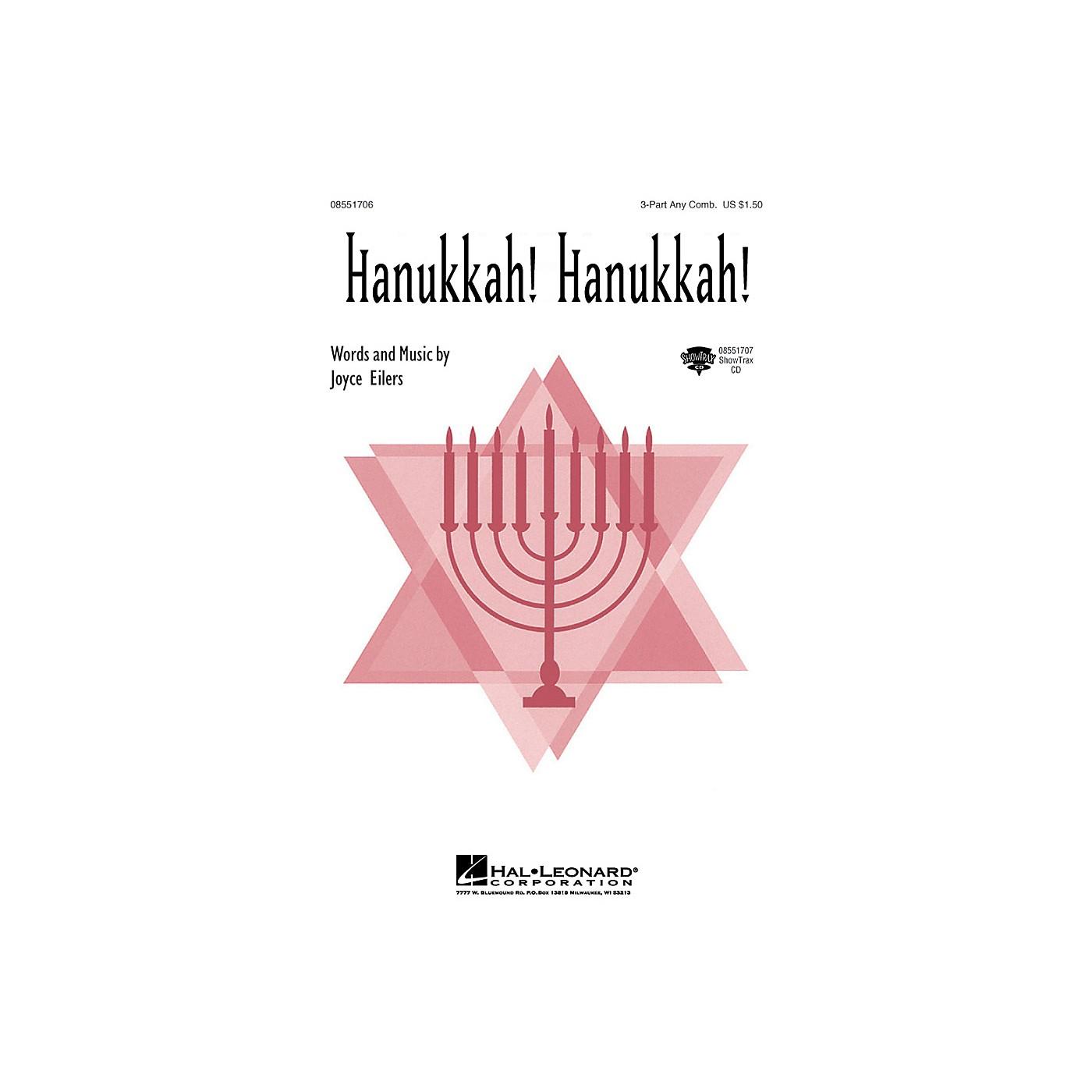 Hal Leonard Hanukkah! Hanukkah! 3 Part Any Combination composed by Joyce Eilers thumbnail