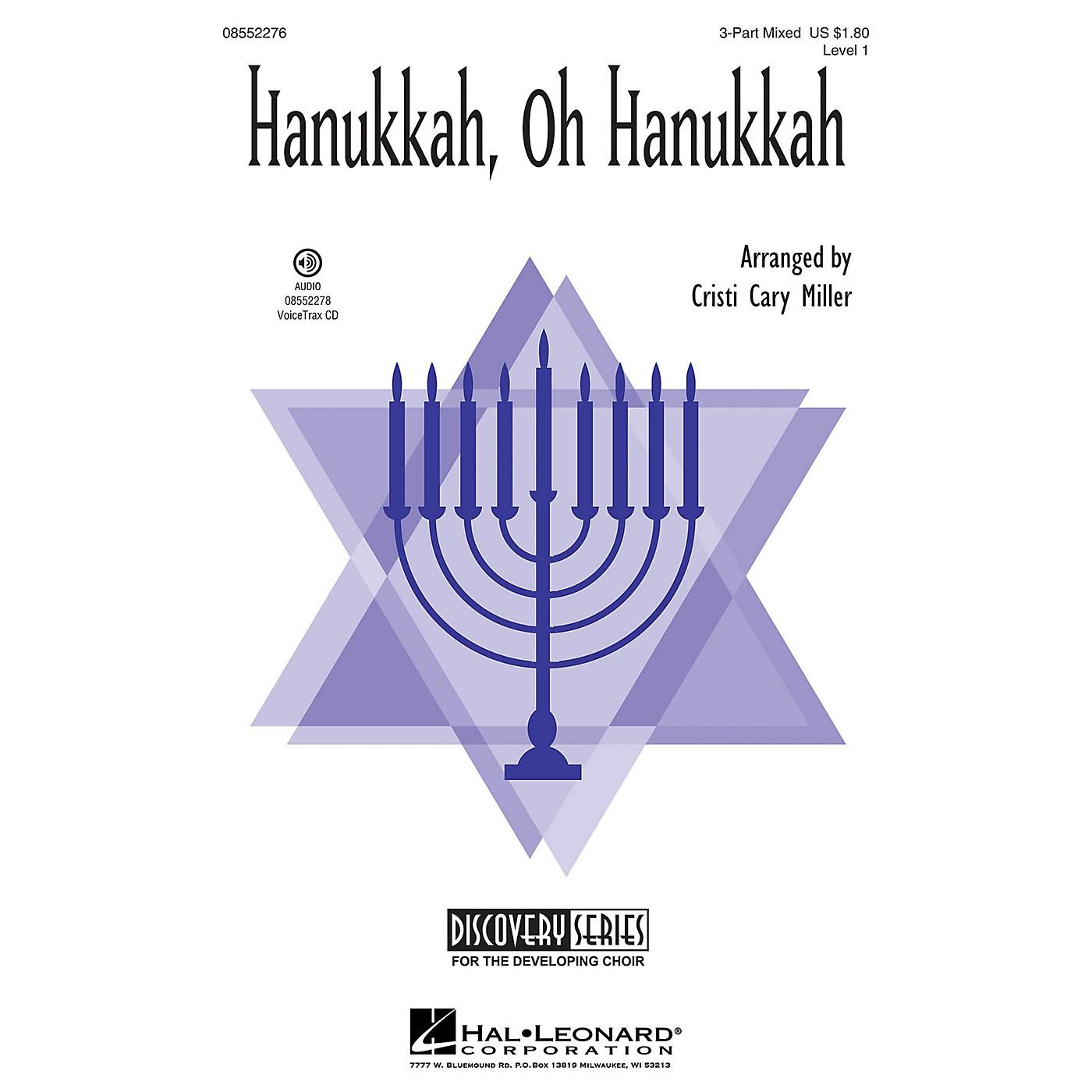 Hal Leonard Hanukkah, Oh Hanukkah (Discovery Level 1) 2-Part Arranged by Cristi Cary Miller thumbnail