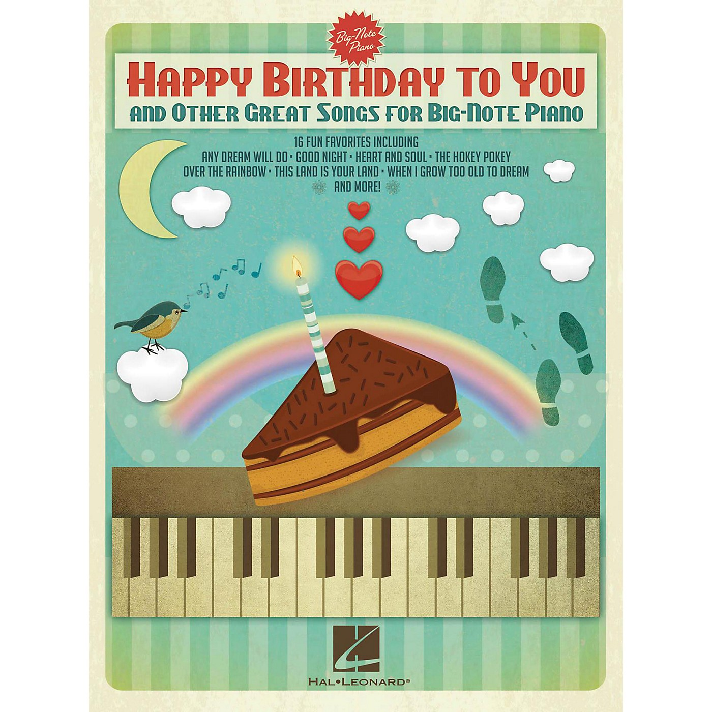 Hal Leonard Happy Birthday To You And Other Great Songs For Big-Note Piano thumbnail