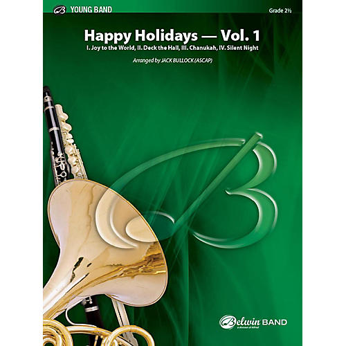 Alfred Happy Holidays, Vol. 1 Concert Band Grade 2 Set thumbnail