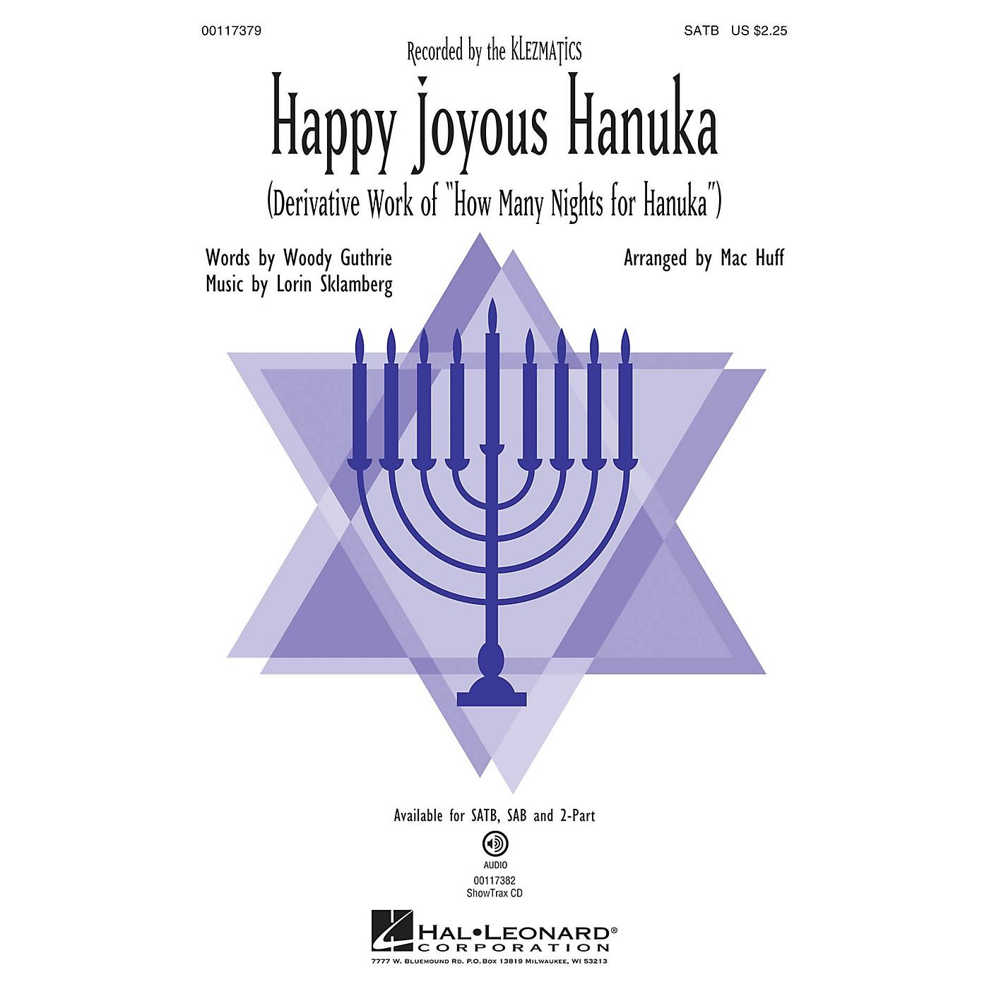 Hal Leonard Happy Joyous Hanuka SAB by Klezmatics Arranged by Mac Huff thumbnail
