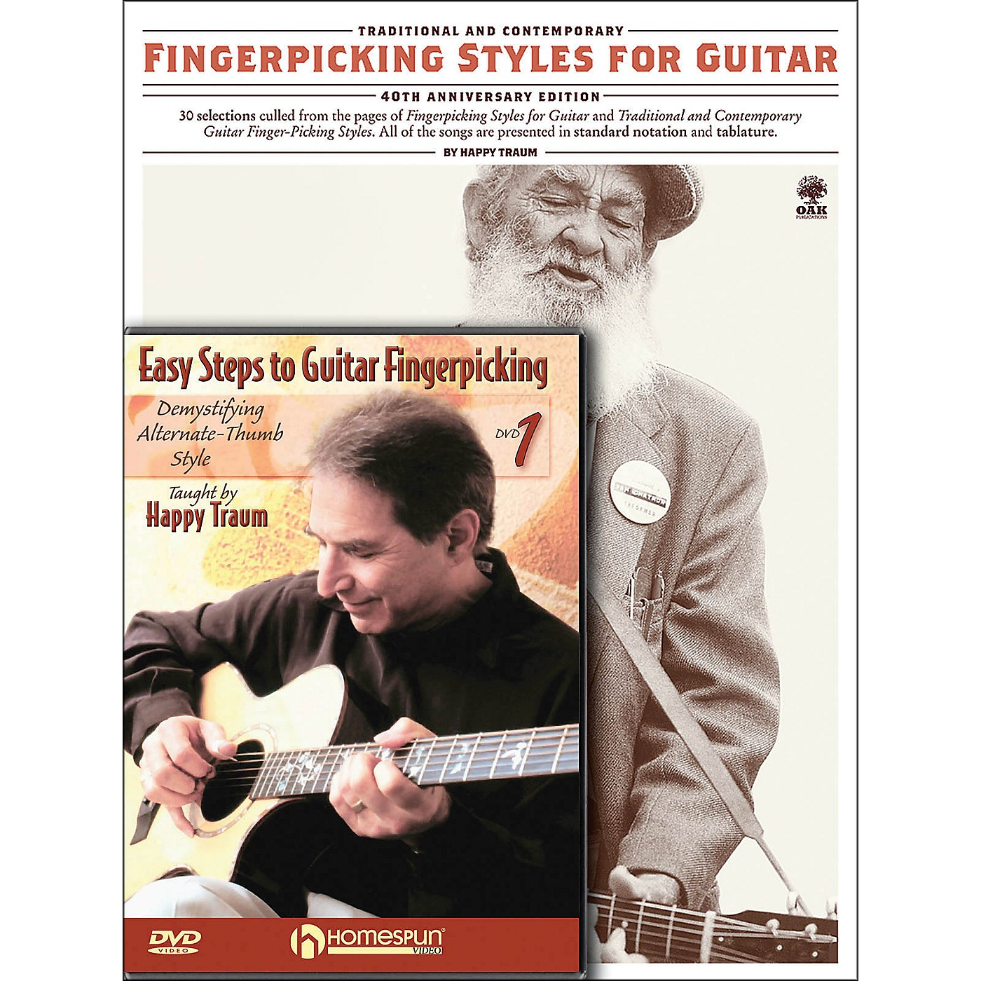 Homespun Happy Traum Fingerpicking Guitar Mega Pack thumbnail