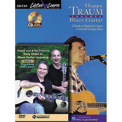 Homespun Happy Traum Teaches Blues Guitar pack thumbnail