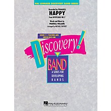 Hal Leonard Happy (from Despicable Me 2) Concert Band Level 1.5 by Pharrell Arranged by Michael Sweeney