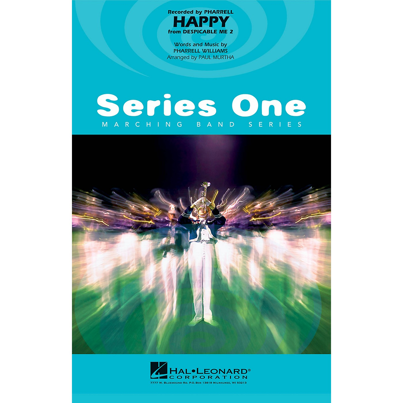 Hal Leonard Happy (from Despicable Me 2) Marching Band Level 1 by Pharrell Williams Arranged by Paul Murtha thumbnail