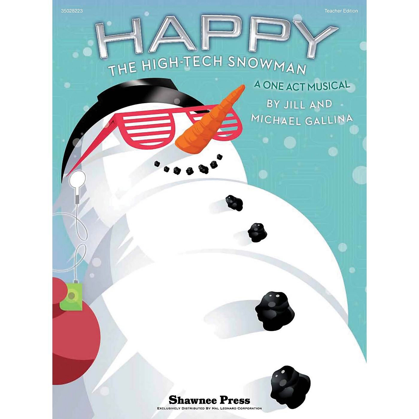 Shawnee Press Happy, the High-Tech Snowman (A One-Act Musical) Singer 5 Pak Composed by Jill Gallina thumbnail