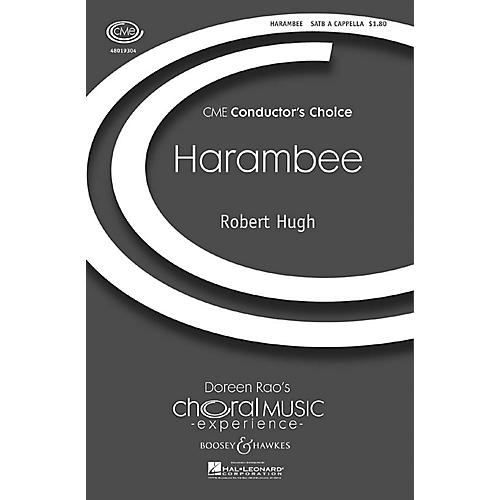 Boosey and Hawkes Harambee (CME Conductor's Choice) SATB a cappella composed by Robert Hugh thumbnail