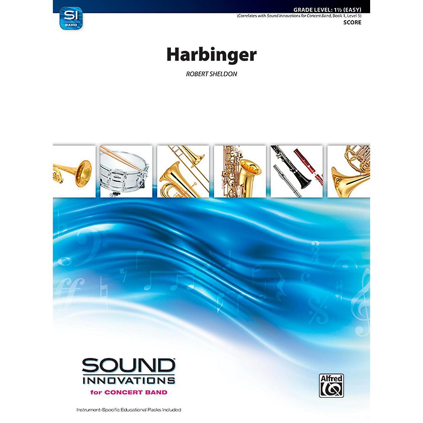 Alfred Harbinger Concert Band Grade 1.5 (Easy) thumbnail