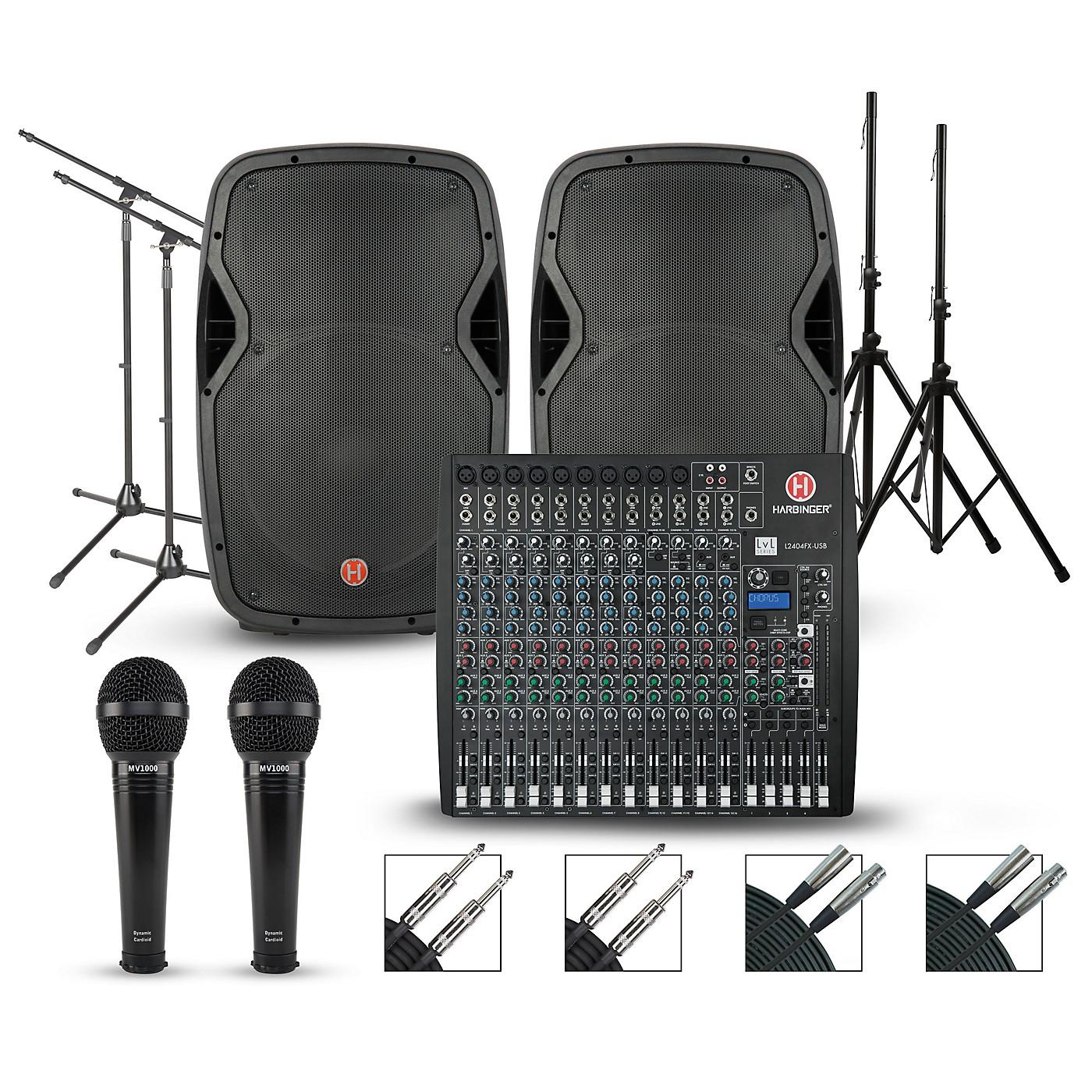 Harbinger Harbinger L2404FX Mixer with Harbinger VARI PA Package thumbnail