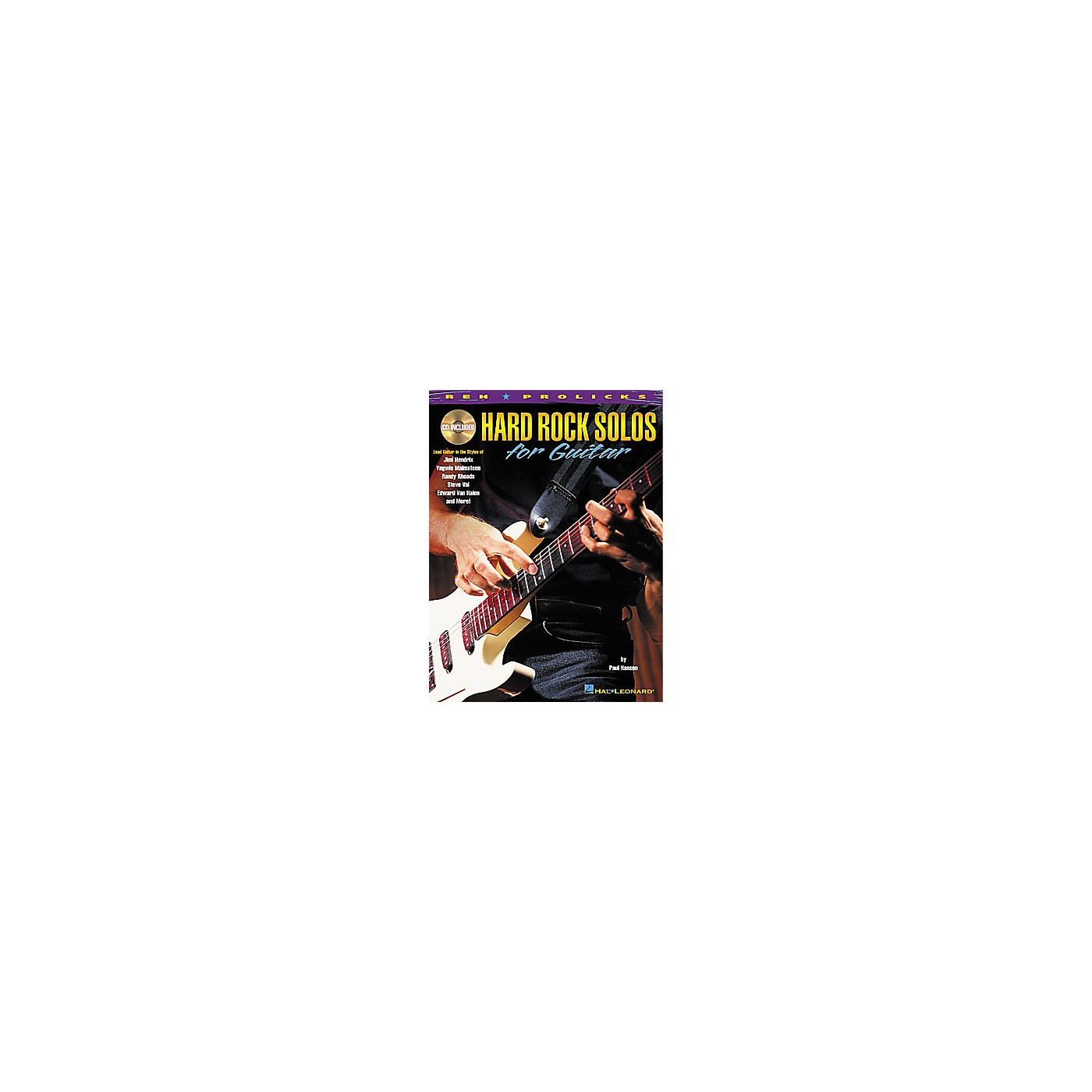 Hal Leonard Hard Rock Solos for Guitar Book with CD thumbnail