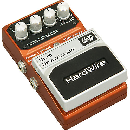 DigiTech HardWire DL-8 Delay/Looper Guitar Effects Pedal thumbnail