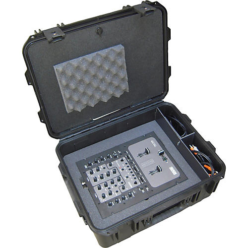 SKB Hardshell Case for Rane Serato Mixer, Serato Control Vinyl Discs, and a Laptop-thumbnail