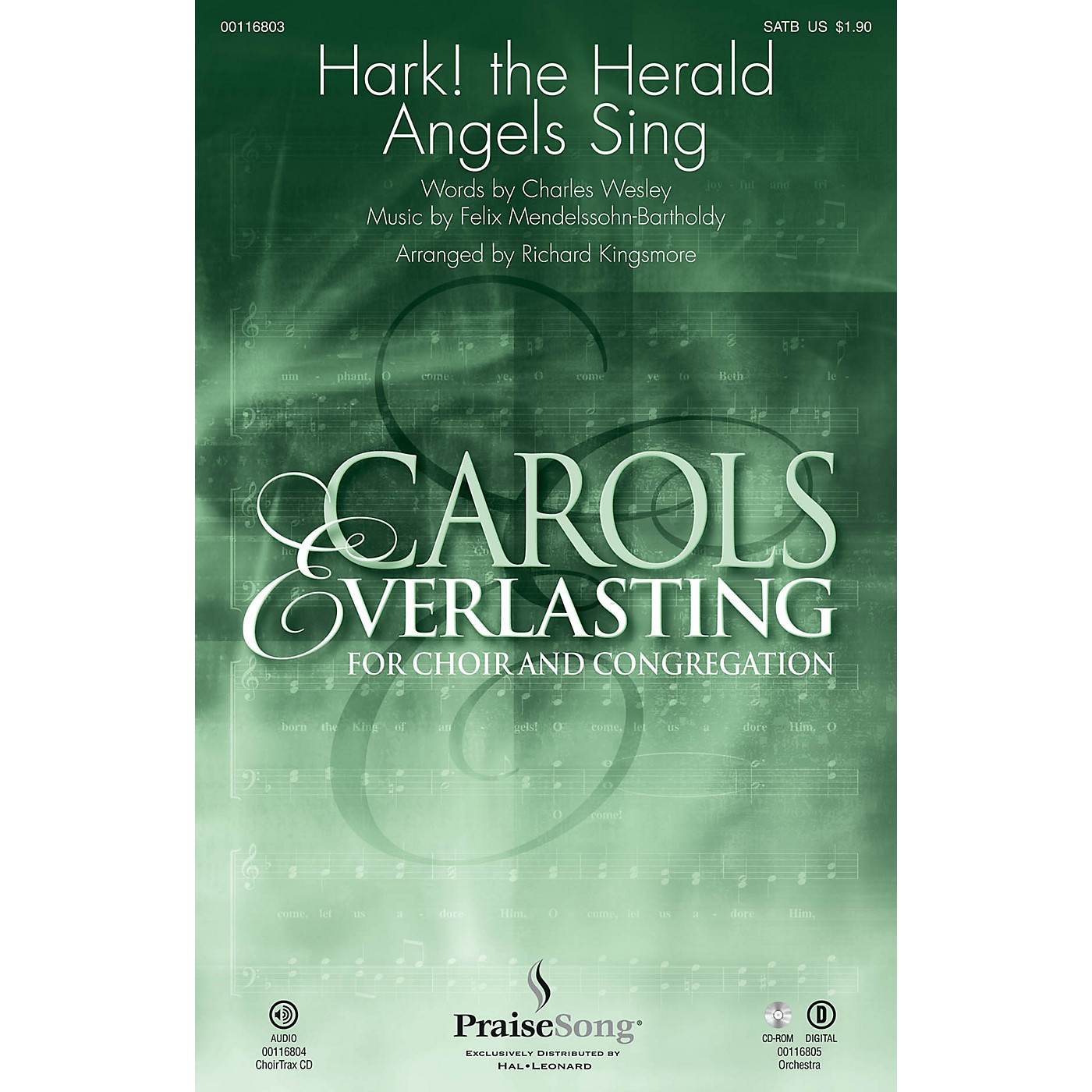 PraiseSong Hark! The Herald Angels Sing ORCHESTRA ACCOMPANIMENT Arranged by Richard Kingsmore thumbnail