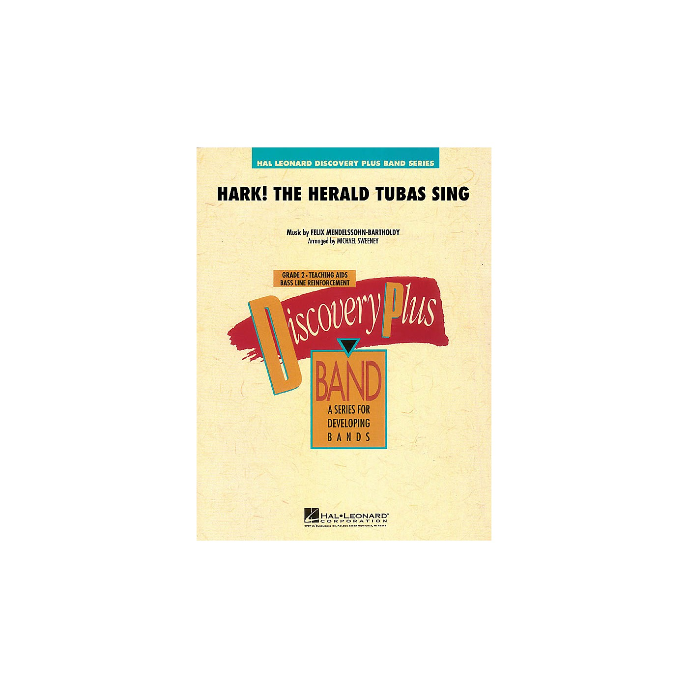Hal Leonard Hark! The Herald Tubas Sing - Discovery Plus Band Level 2 arranged by Michael Sweeney thumbnail