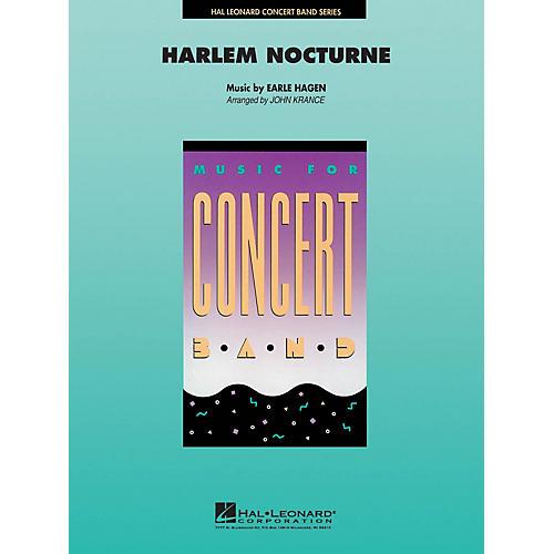 Hal Leonard Harlem Nocturne Concert Band Level 4-5 Arranged by John Krance thumbnail