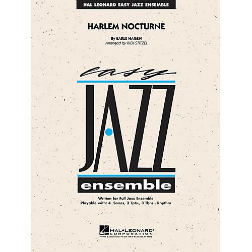 Hal Leonard Harlem Nocturne Jazz Band Level 2 Arranged by Rick Stitzel thumbnail