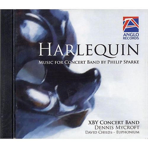Anglo Music Press Harlequin (Anglo Music Press CD) Concert Band Composed by Philip Sparke thumbnail