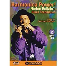 Homespun Harmonica Power! (2-DVD Set) Homespun Tapes Series DVD Written by Norton Buffalo