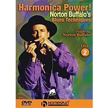 Homespun Harmonica Power! (DVD Two - Blues Techniques) Homespun Tapes Series DVD Written by Norton Buffalo