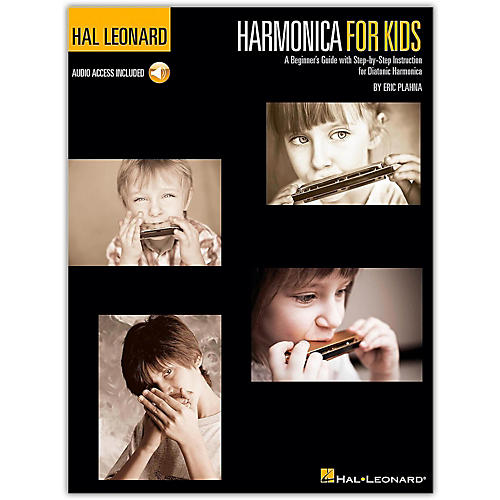 Hal Leonard Harmonica for Kids - A Beginner's Guide with Step-by-Step Instruction for Diatonic Harmonica (Book/Online Audio) thumbnail