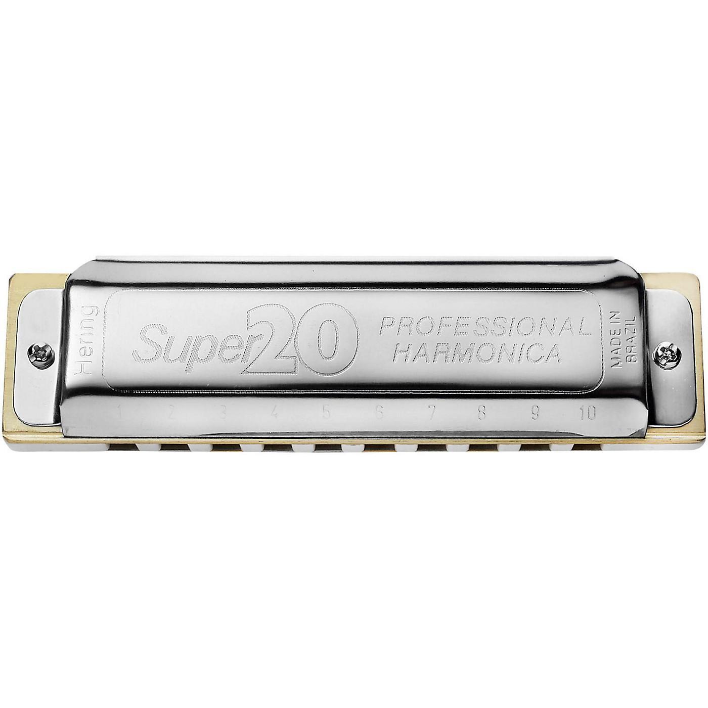 Hering Harmonicas 8020 Super 20 Diatonic Harmonica thumbnail