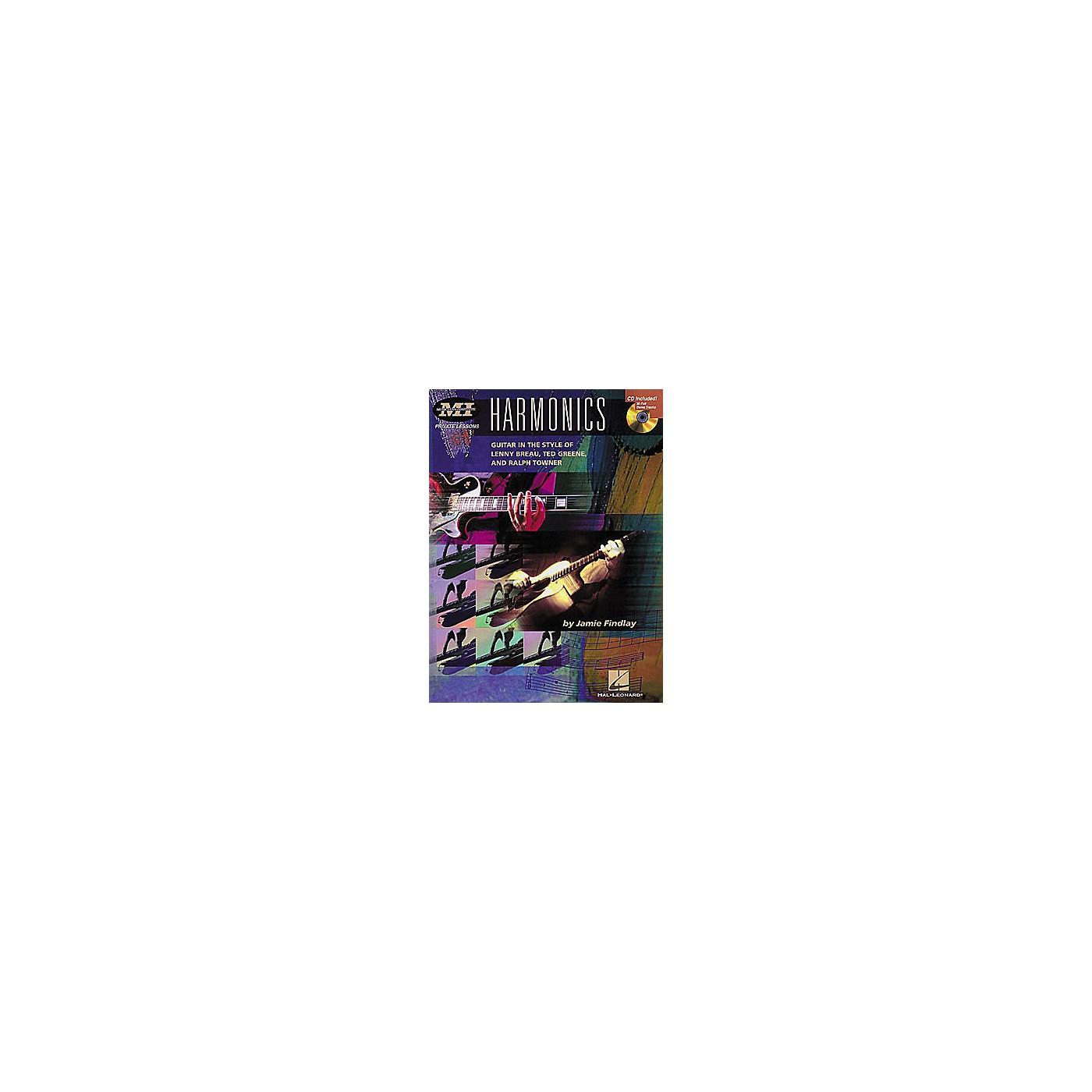 Hal Leonard Harmonics Book/CD thumbnail
