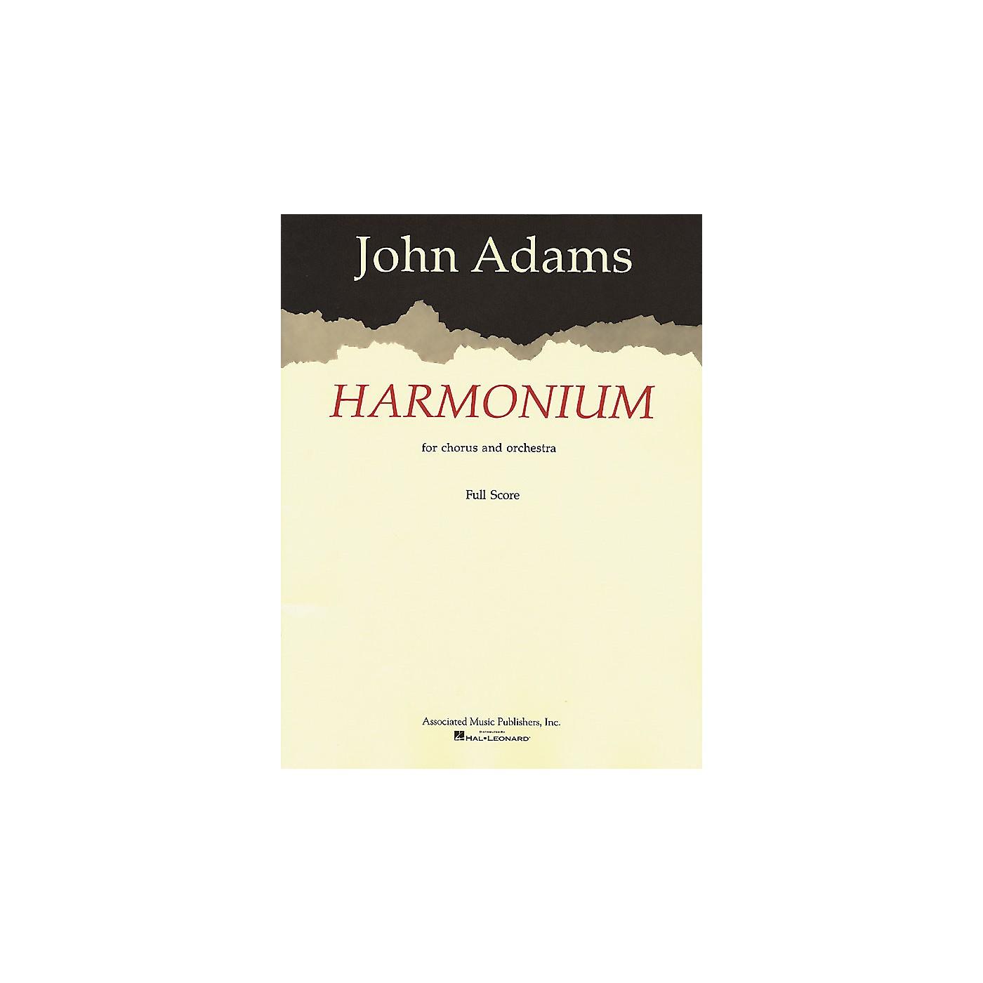 Associated Harmonium (Full Score) Score composed by John Adams thumbnail