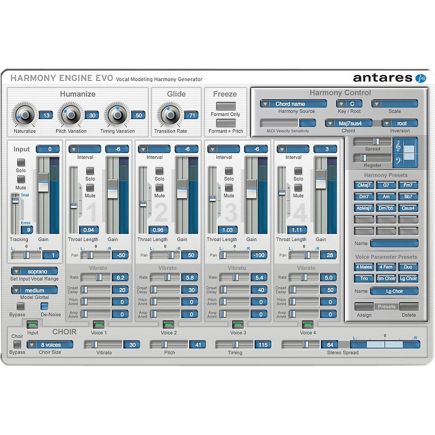 Antares Harmony Engine Evo Software Download thumbnail
