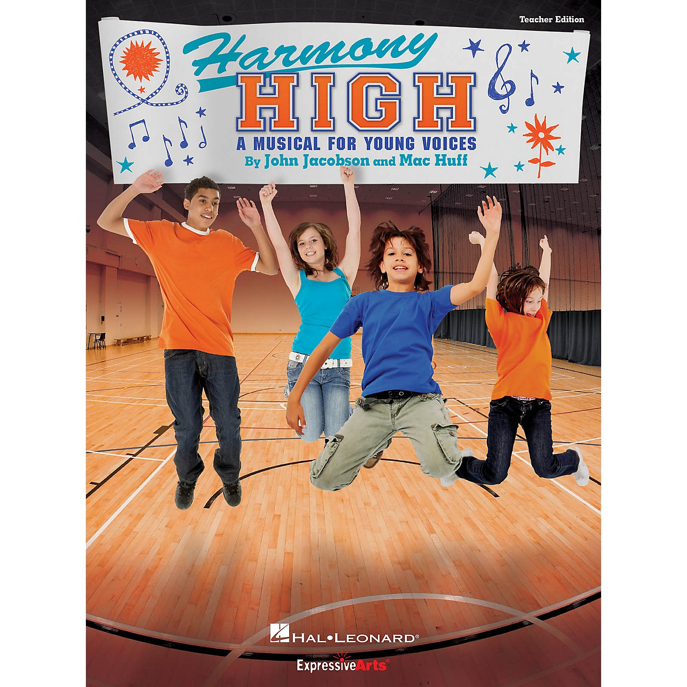 Hal Leonard Harmony High (A Musical for Young Voices) PREV CD Composed by John Jacobson thumbnail