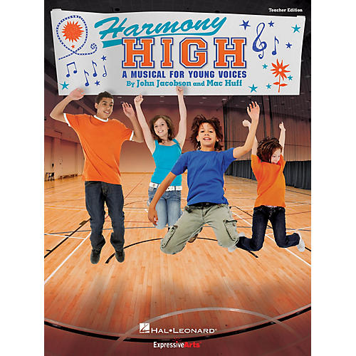 Hal Leonard Harmony High (A Musical for Young Voices) Performance Kit with CD Composed by John Jacobson thumbnail